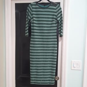 Eva Mendez NY&Co holiday dress